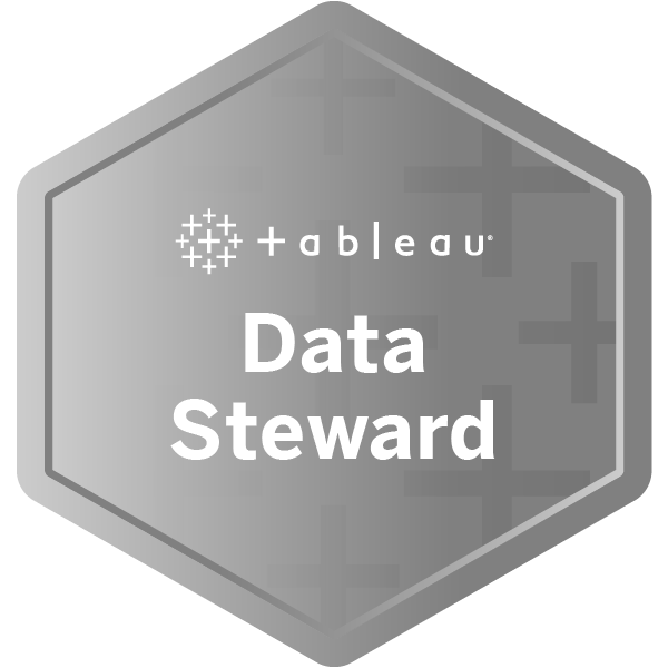 Tableau Data Steward