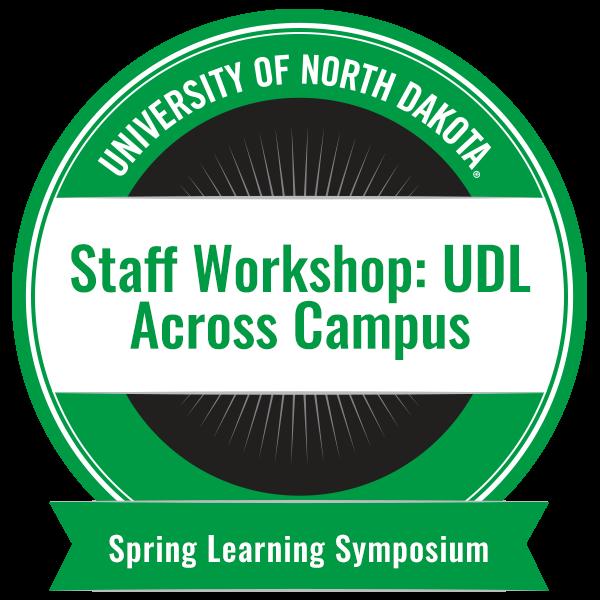 Staff Workshop: UDL Across Campus