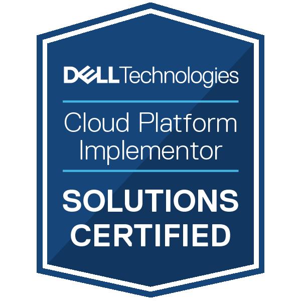 Dell Technologies Cloud Platform Implementor 2020