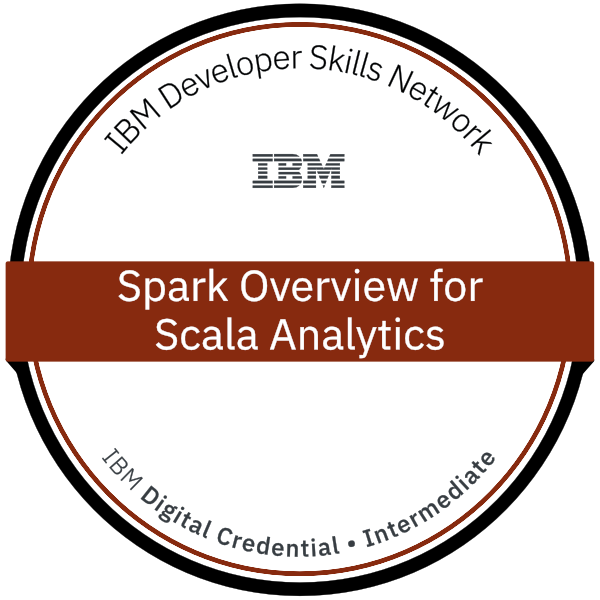 Spark Overview for Scala Analytics