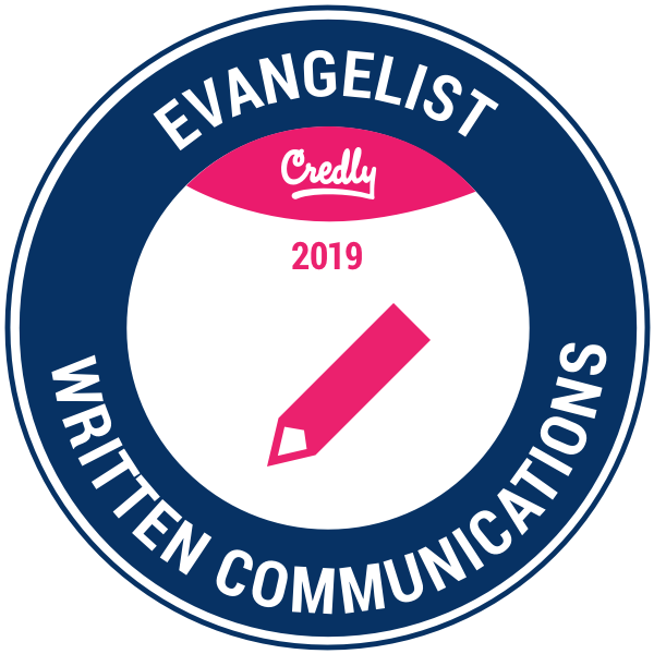 Evangelist: Written Communications 2019