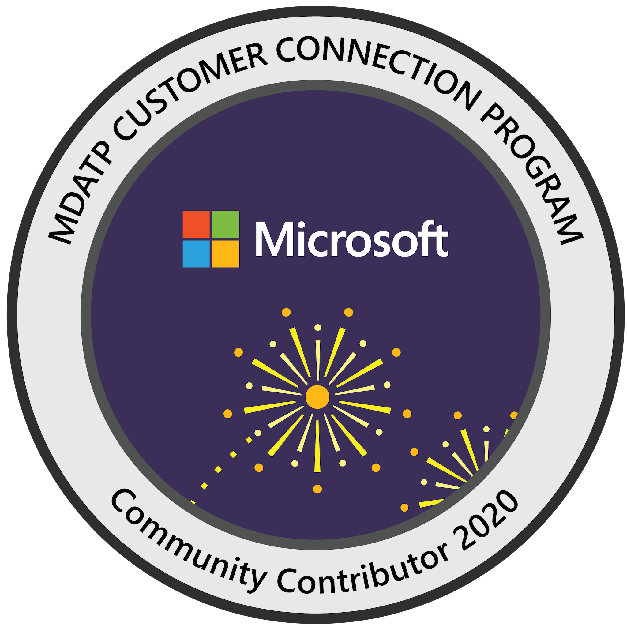 Microsoft Defender ATP Customer Connection Program: Community Contributor 2020