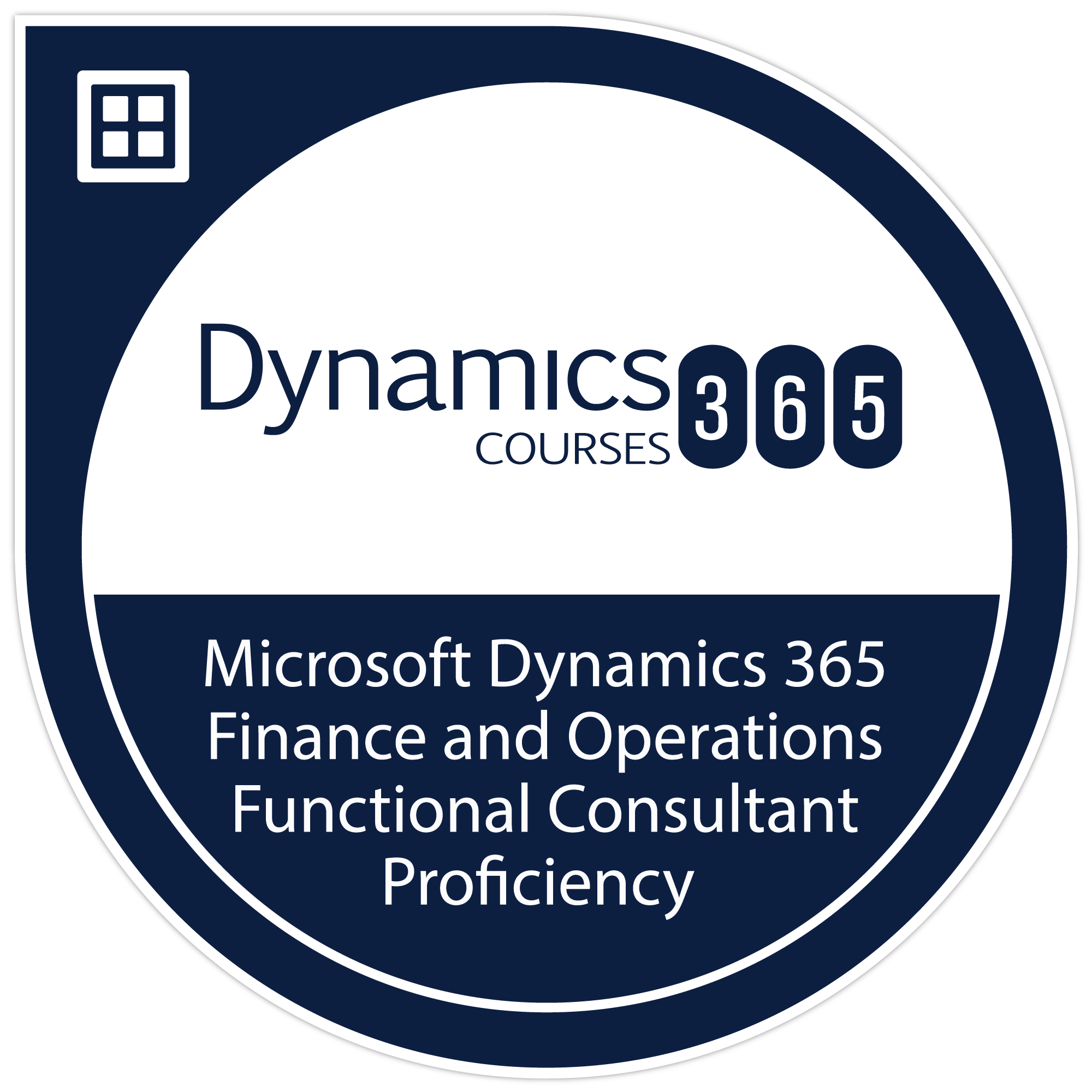 Microsoft Dynamics 365 Finance and Operations Functional Consultant Proficiency