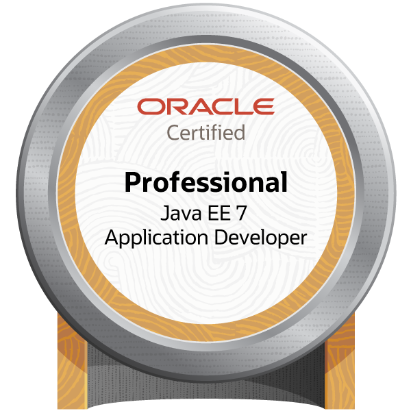 Oracle Certified Professional, Java EE 7 Application Developer