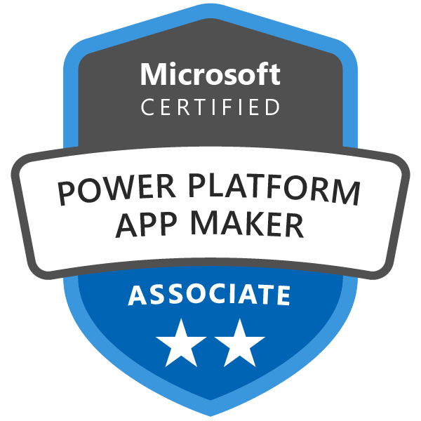 Microsoft Certified: Power Platform App Maker Associate