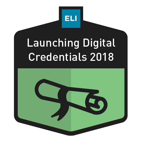 Launching Digital Credentials 2018