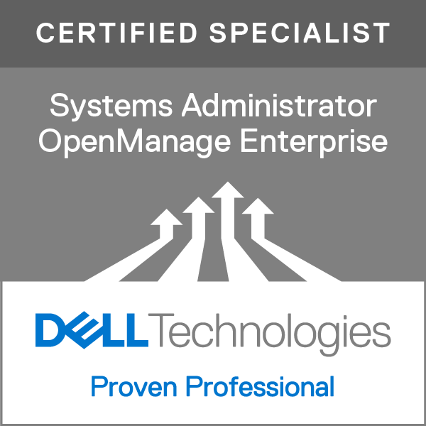 Specialist - Systems Administrator, OpenManage Enterprise Version 1.0