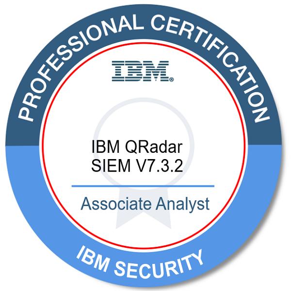 IBM Certified Associate Analyst - IBM QRadar SIEM V7.3.2