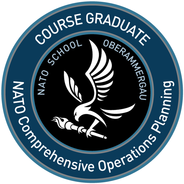 S5-54 NATO Comprehensive Operations Planning Course