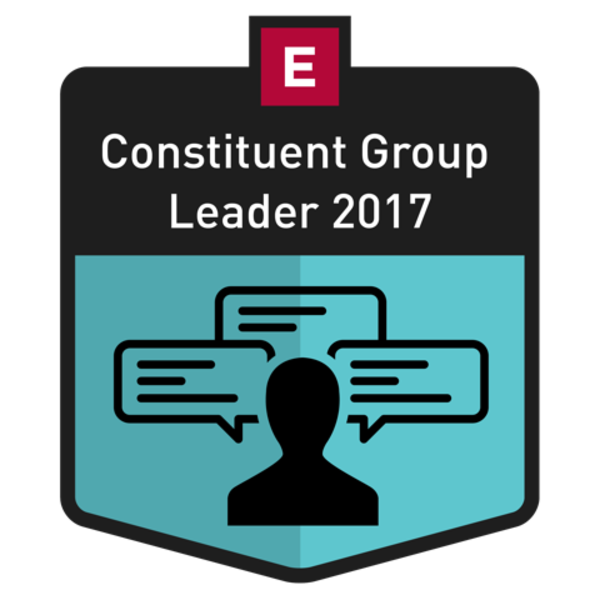 Constituent Group Leader 2017