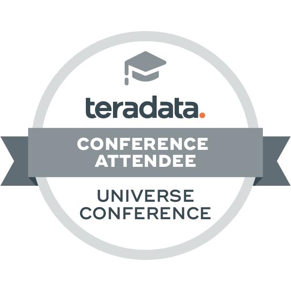 Teradata Universe Conference Attendee