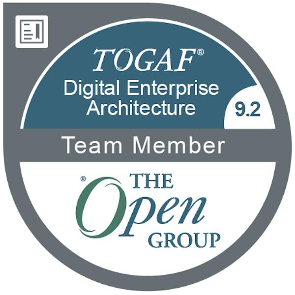 The Open Group: TOGAF® Digital Enterprise Architecture Team Member 9.2