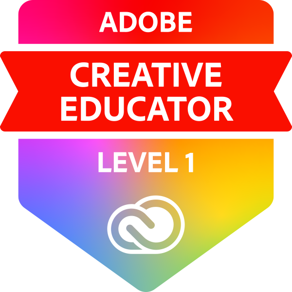 Adobe Creative Educator Level 1