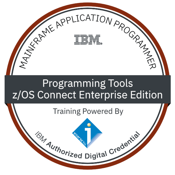Interskill – Mainframe Application Programmer – Programming Tools – z/OS Connect Enterprise Edition