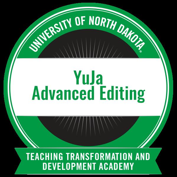 YuJa Advanced Editing