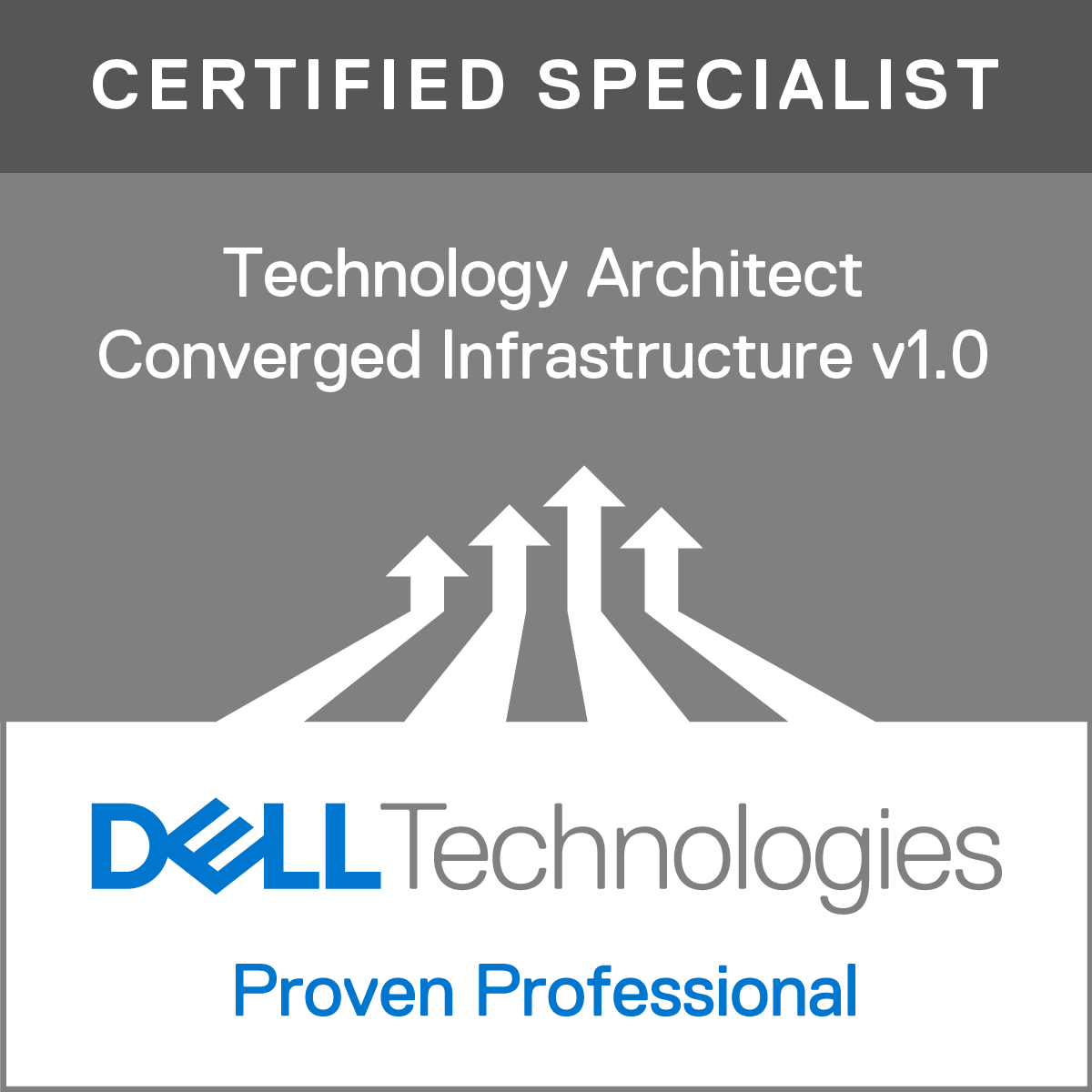 Specialist - Technology Architect, Converged Infrastructure Version 1.0