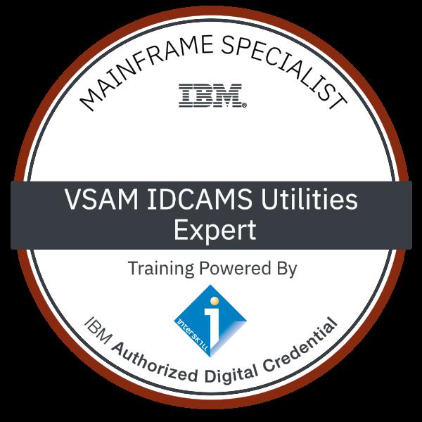 Interskill - Mainframe Specialist – VSAM IDCAMS Utility - Expert
