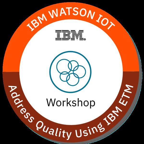 IoT - Address Quality using IBM ETM - Workshop