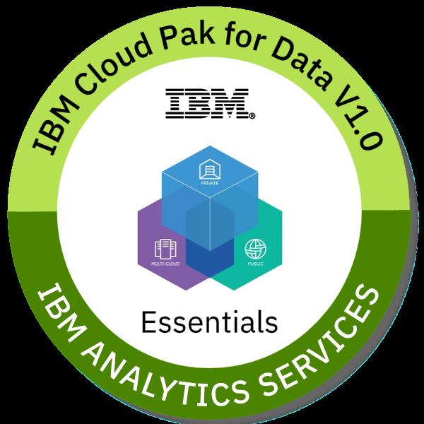 IBM Cloud Pak for Data V1.0 Essentials