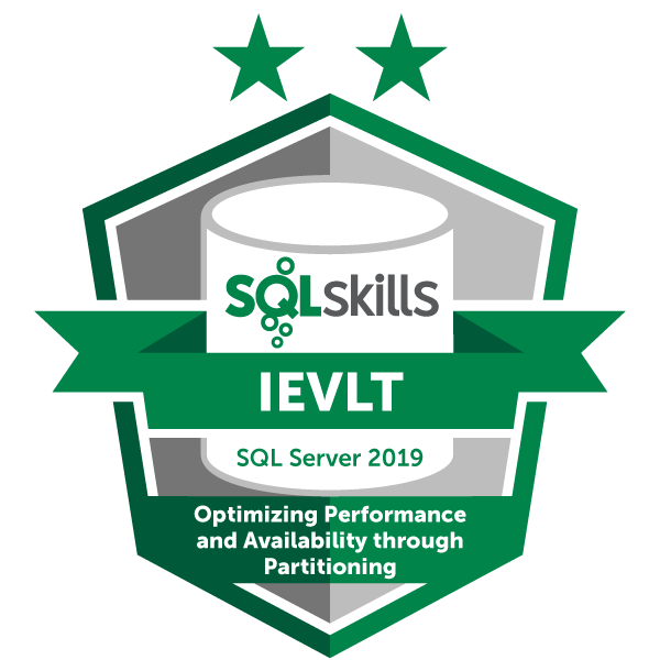 SQLskills IEVLT - SQL Server 2019
