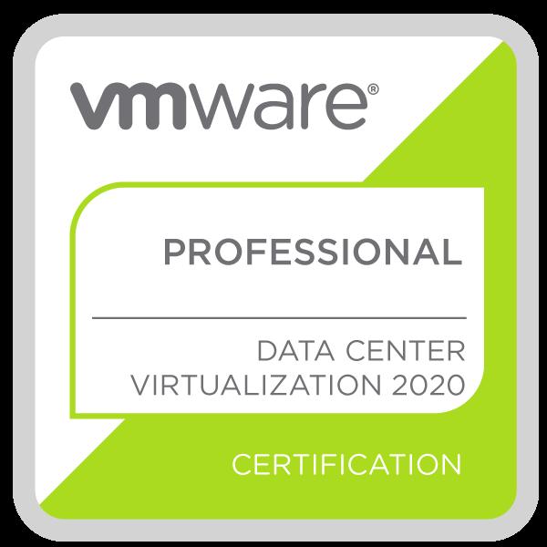 VMware Certified Professional - Data Center Virtualization 2020