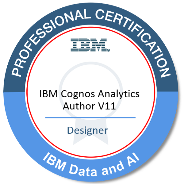 IBM Certified Designer - IBM Cognos Analytics Author V11