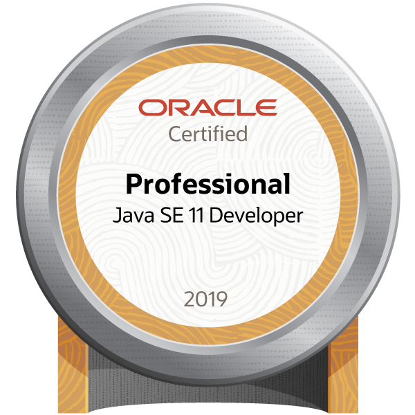 Oracle Certified Professional: Java SE 11 Developer