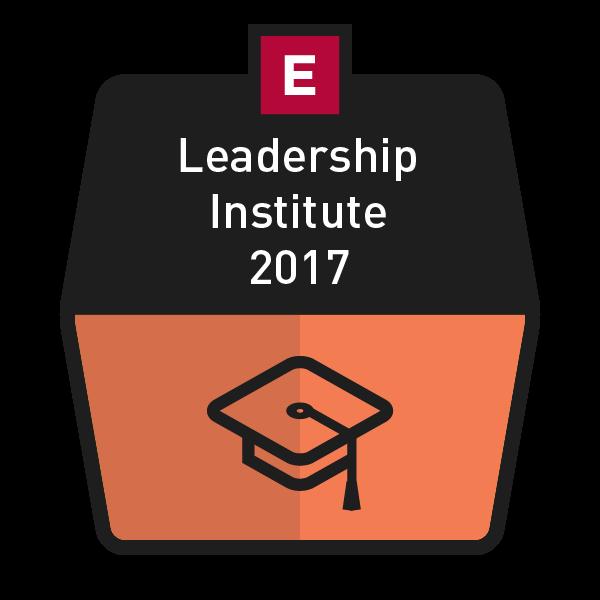 Leadership Institute 2017