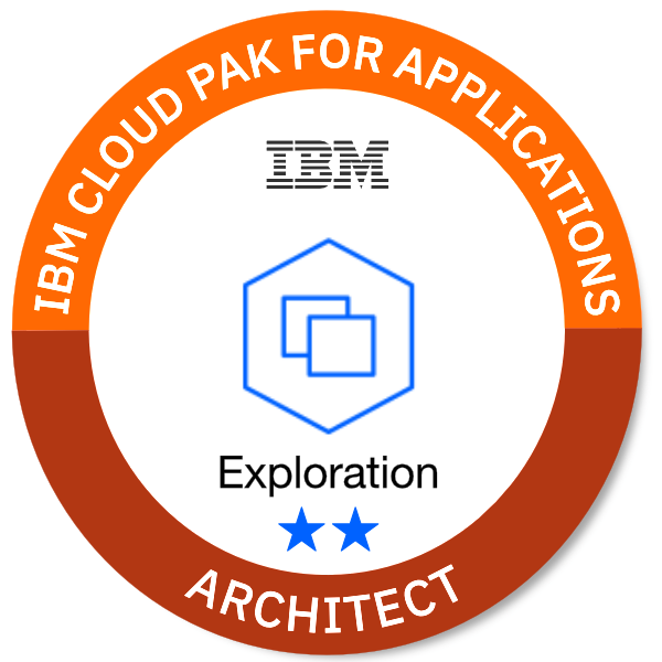 IBM Cloud Pak for Applications - Architect (Exploration **)