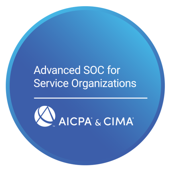 Advanced SOC for Service Organizations Certificate