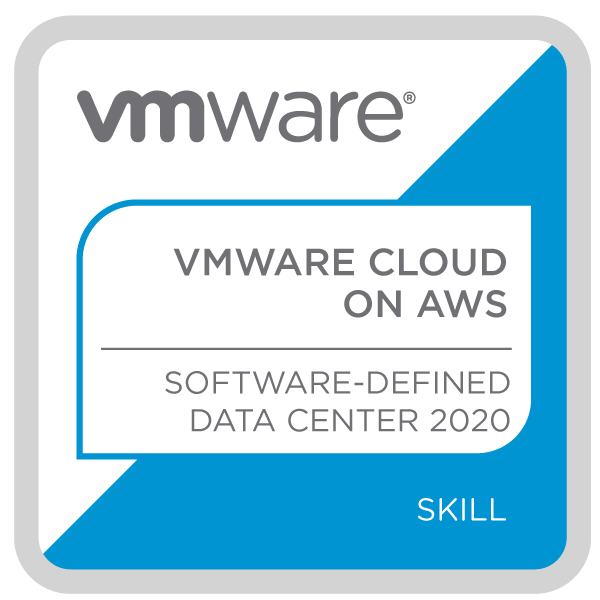 VMware Cloud on AWS – Software Defined Data Center 2020