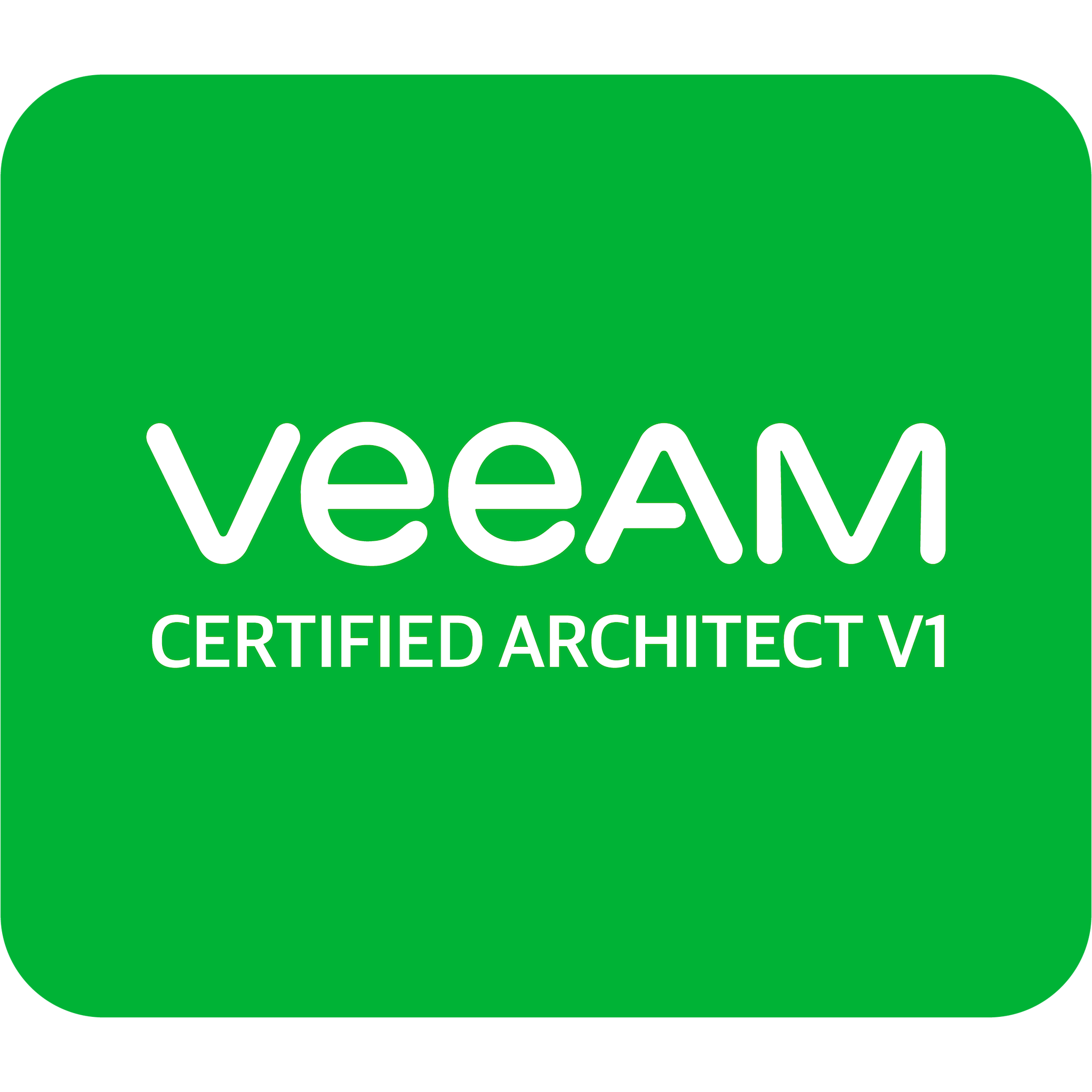Veeam Certified Architect v1 (VMCA v1)