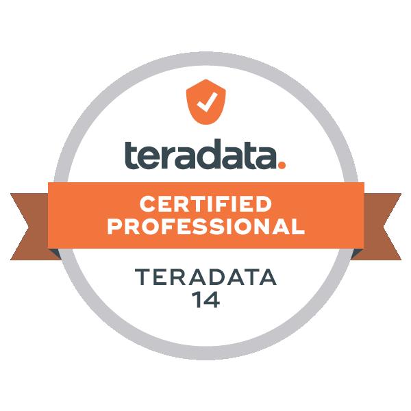 Teradata 14 Certified Professional