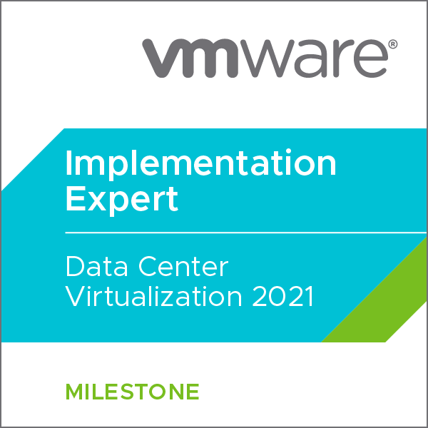 VMware Certified Implementation Expert - Data Center Virtualization 2021