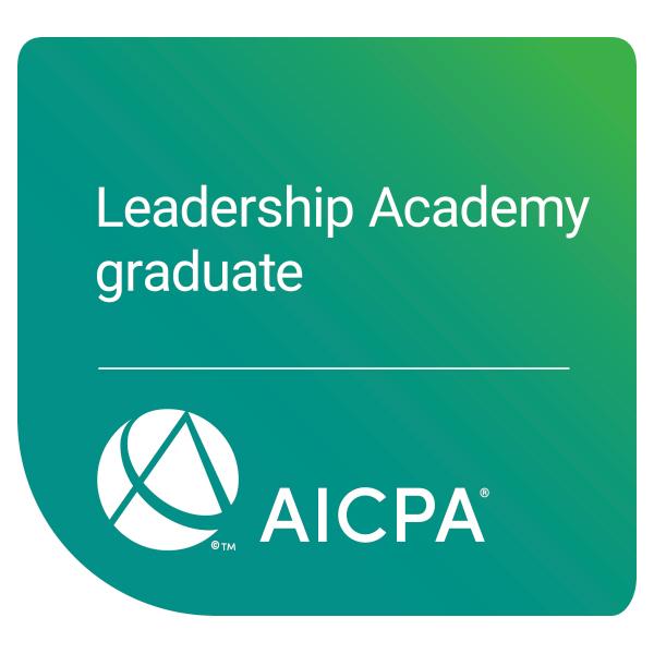 AICPA Leadership Academy Graduate