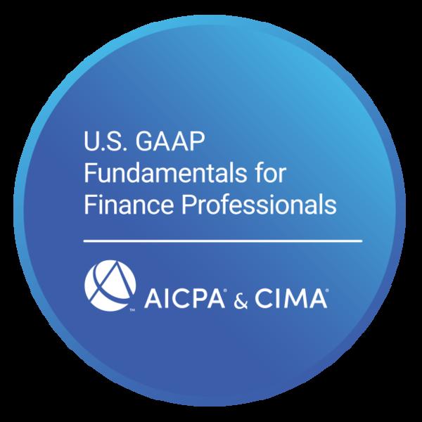 U.S. GAAP Fundamentals for Finance Professionals Certificate