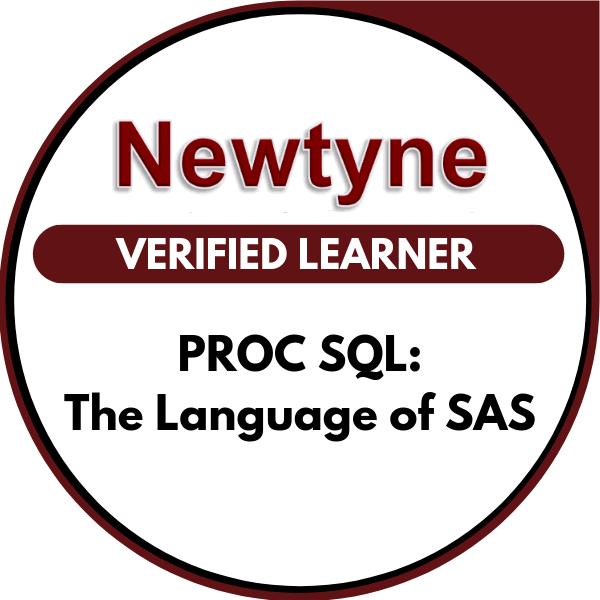 PROC SQL: The Language of SAS - Acclaim