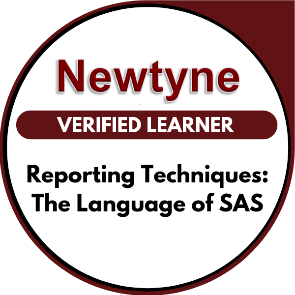 Reporting Techniques: The Language of SAS