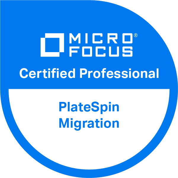 PlateSpin Migration 10 Certified Professional