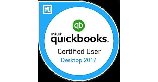 QuickBooks Certified User Desktop 2017 - Acclaim