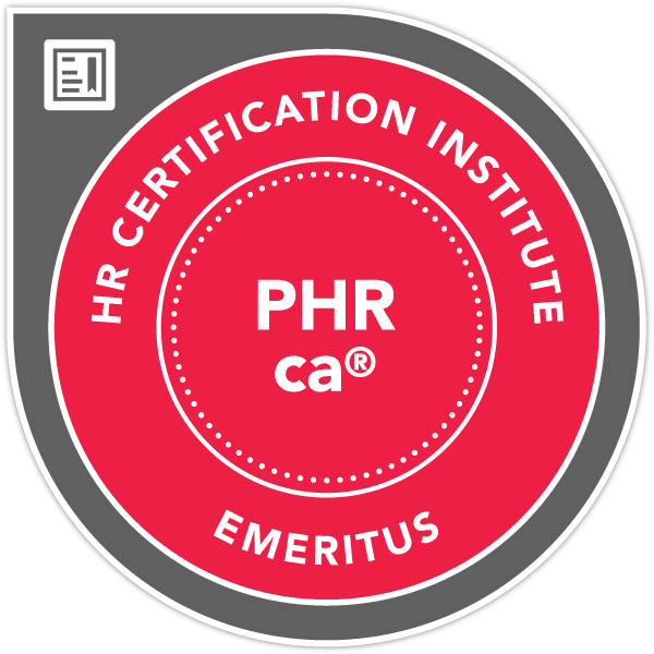 Professional in Human Resources - California® (PHRca®) - Emeritus
