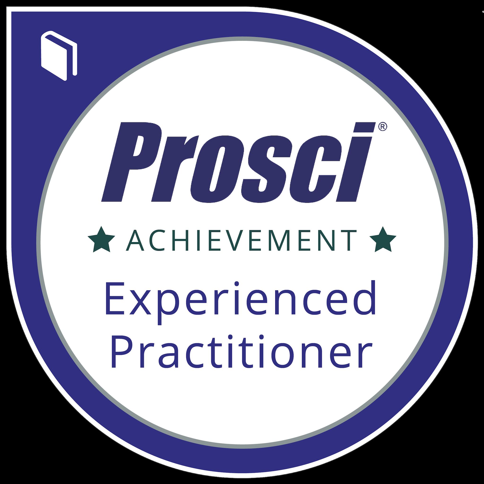 Prosci® Experienced Practitioner Program
