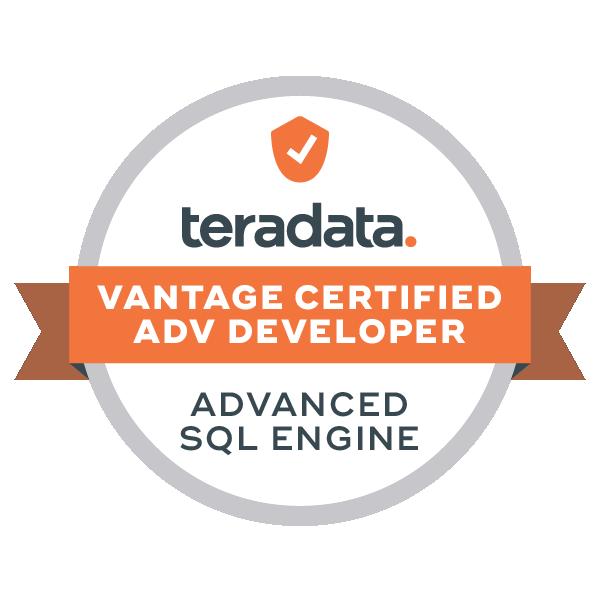 Vantage Certified Advanced Developer