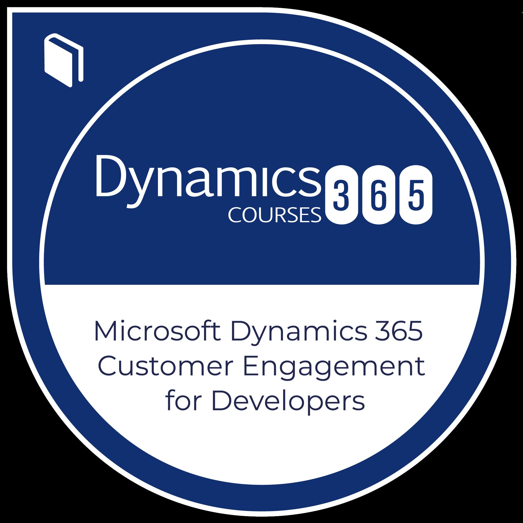 Microsoft Dynamics 365 Customer Engagement for Developers