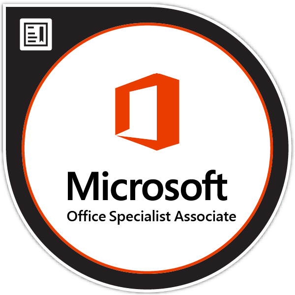 Microsoft Office Specialist: Associate (Microsoft 365 Apps and Office 2019)