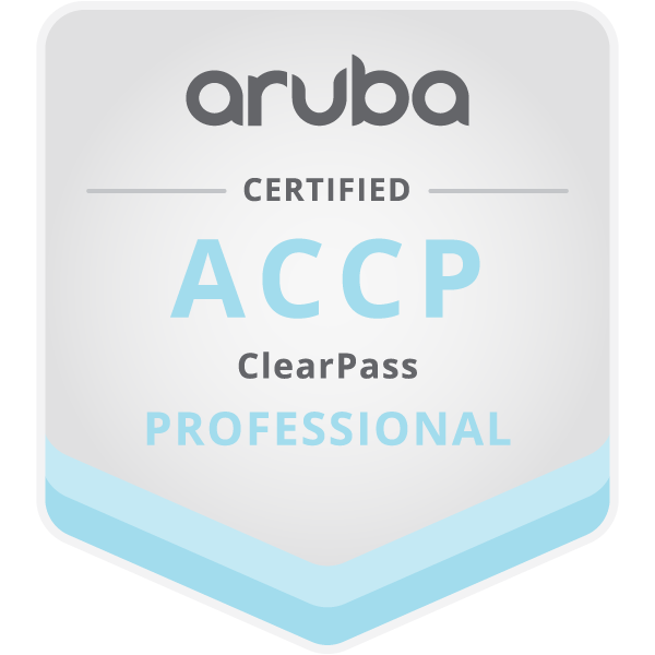 Aruba Certified ClearPass Professional (ACCP)