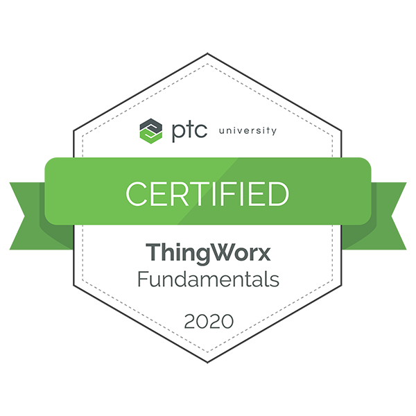 ThingWorx Fundamentals Certification 2020