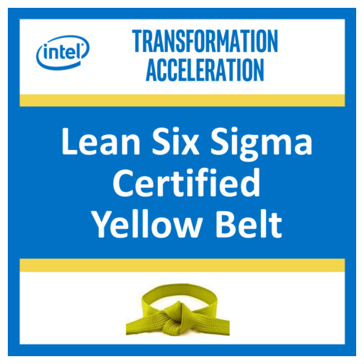 Lean Six Sigma Certified Yellow Belt
