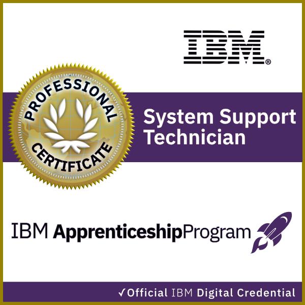 Ibm System Support Technician Apprenticeship Acclaim