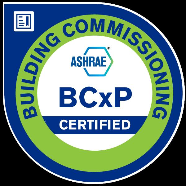 Building Commissioning Professional (BCxP)